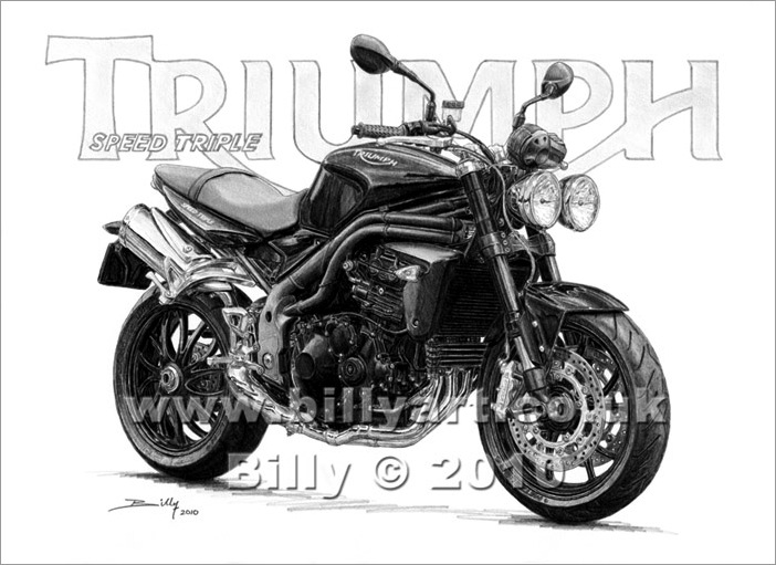 triumph motorcycles fine art limited edition printsbilly